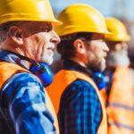 3 Håndværkere på byggeplads