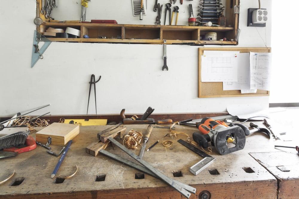 You are currently viewing Hold orden på værkstedet – 3 gode fifs til at organisere dit skur eller værksted